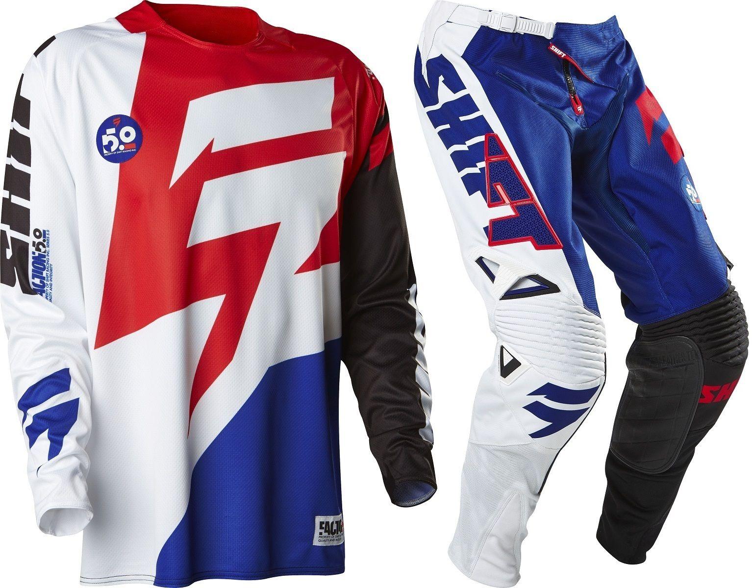 Shift NEW Mx 2018 3LACK Label Mainline Teal Motocross Dirt Bike Gear Set