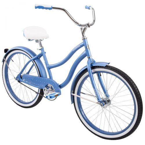 Cranbrook Women S Cruiser Bike Blue 24 Inch In 2020 Cruiser Bike Cruiser Bicycle Bicycle