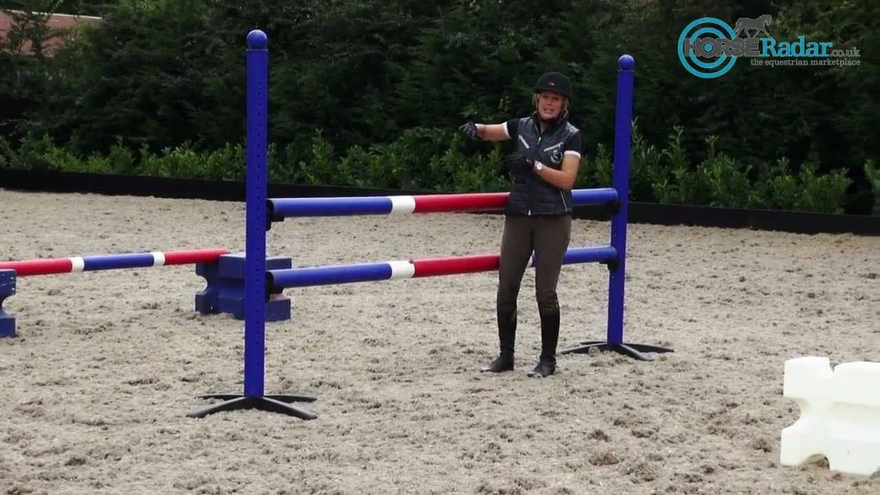 Showjump Training With Laura Renwick Horse Training Train Training Tips