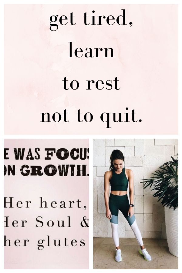 BEST MOTIVATIONAL & INSPIRATIONAL GYM / FITNESS QUOTES – if you get tired, learn… #fitness #fitnessq...