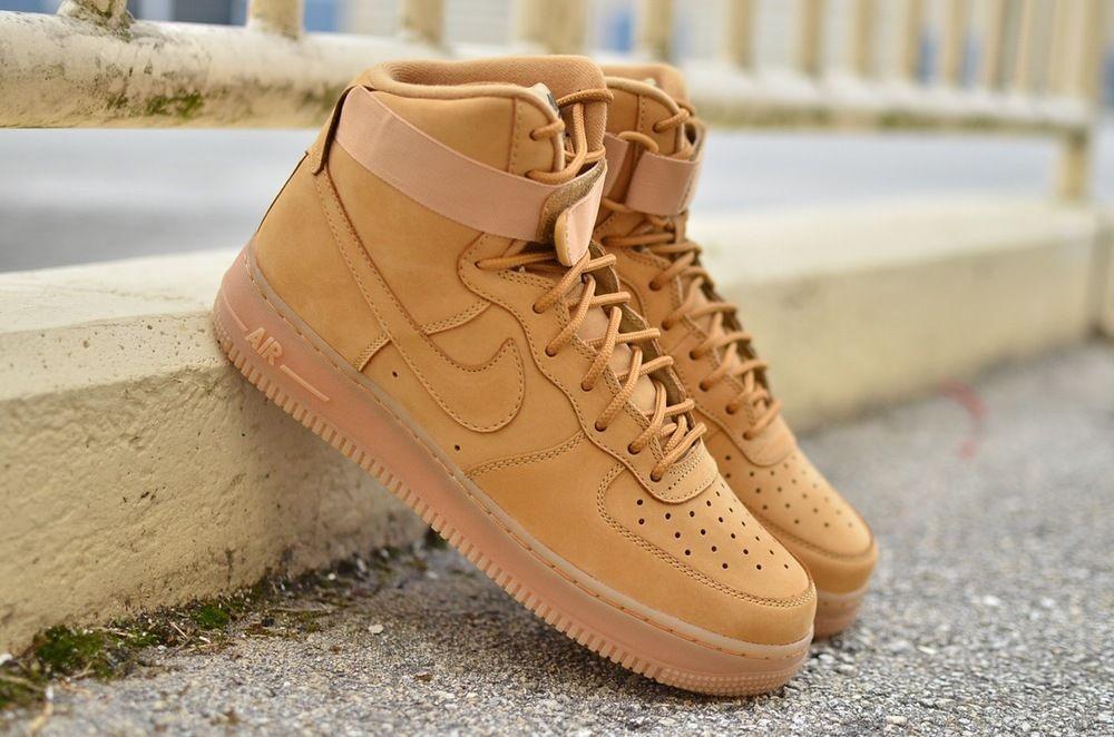 nike air force 1 wheat youth