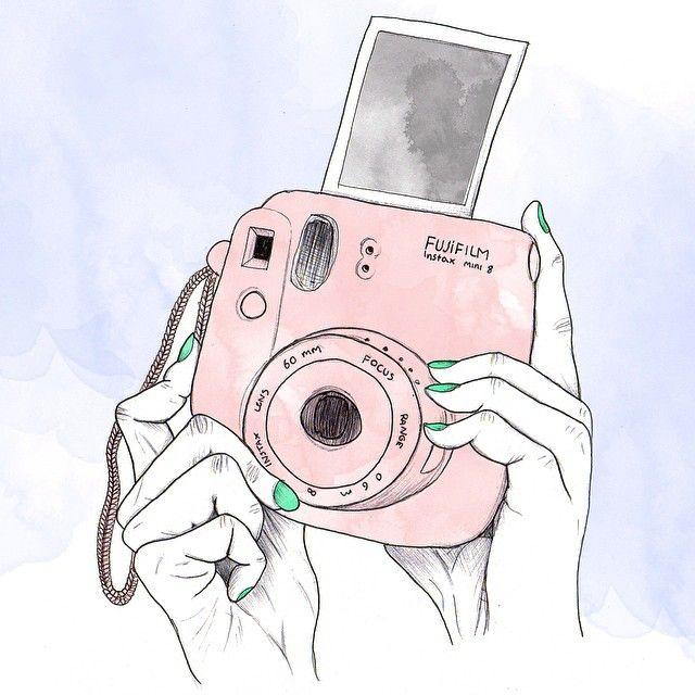 Laura M On Instagram Fujifilm Instax Mini Fujifilm Instaxmini Instax Polaroid Instantcam Disegni Di Macchina Fotografica Disegni Simpatici Sfondi Carini