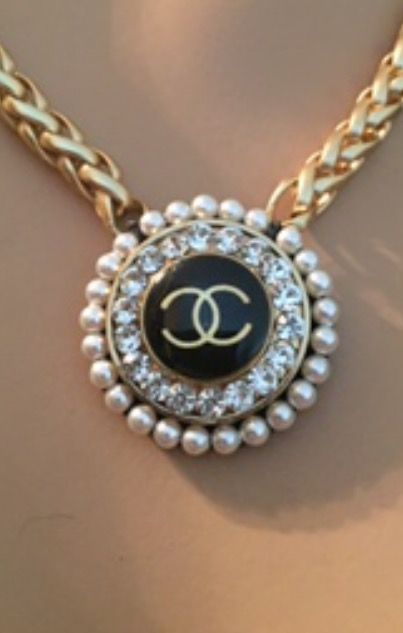 #asksanta #alliwantforchristmas | Chanel Button Jewelry ...
