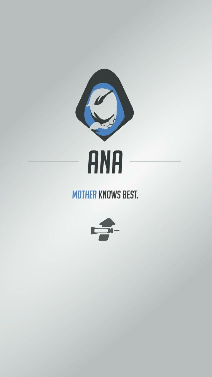 Ana Overwatch 1 Overwatch Wallpapers Overwatch Mobile
