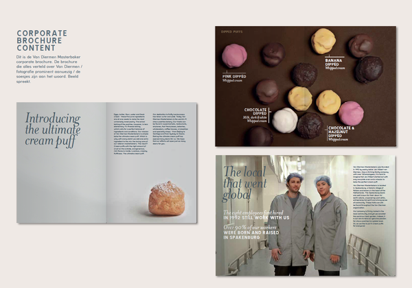 Van Diermen masterbakers by Laura den Otter, via Behance