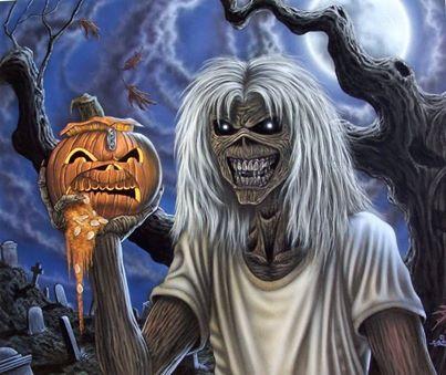 Happy Halloween from Iron Maiden