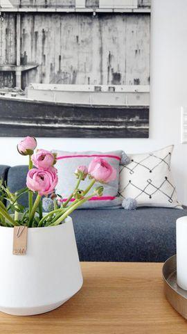 Think pink Wohnzimmer Pinterest
