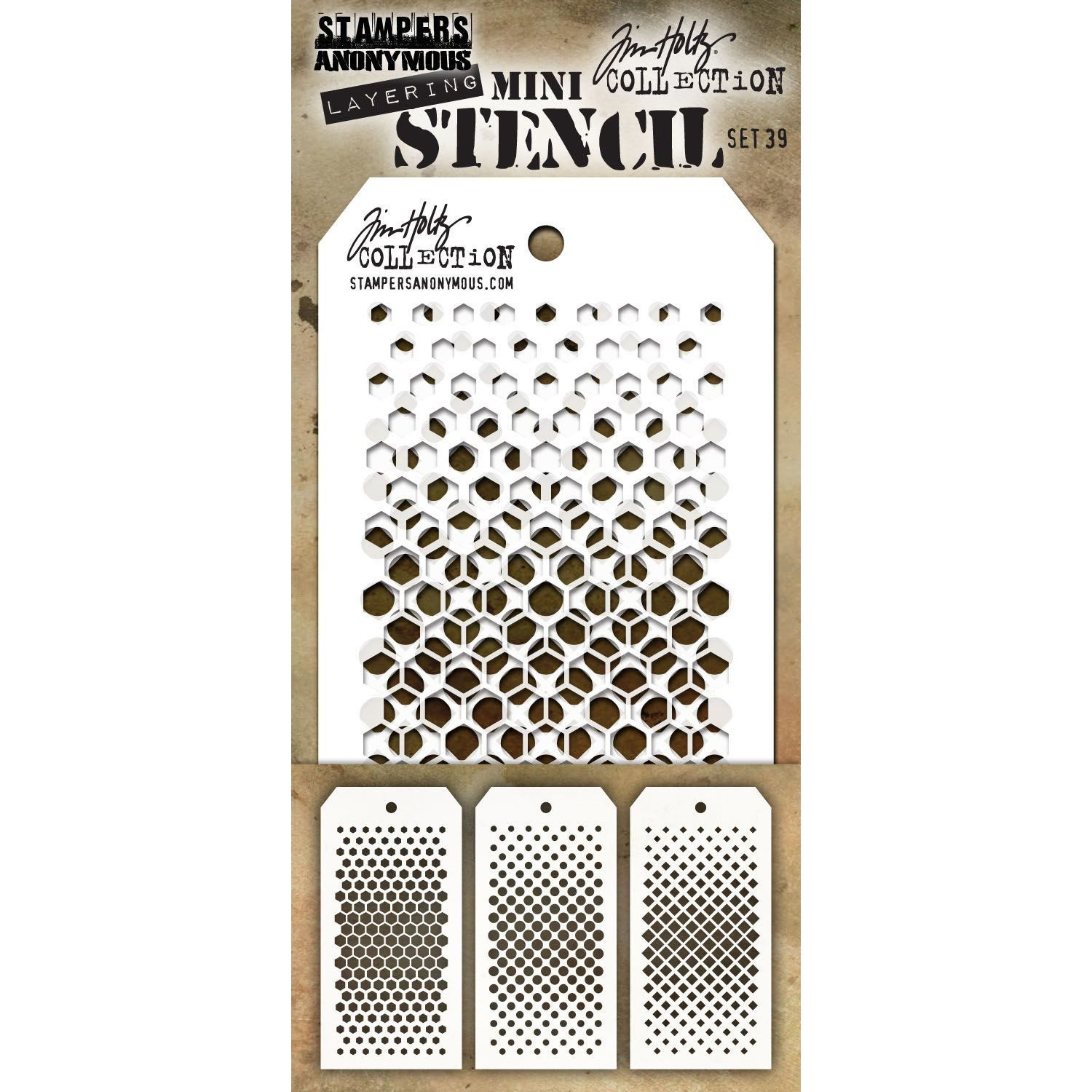 Stampers Anonymous Layering Stencil Mini
