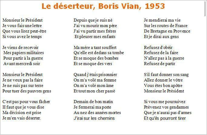 Boris Vian Poesía Y Letras