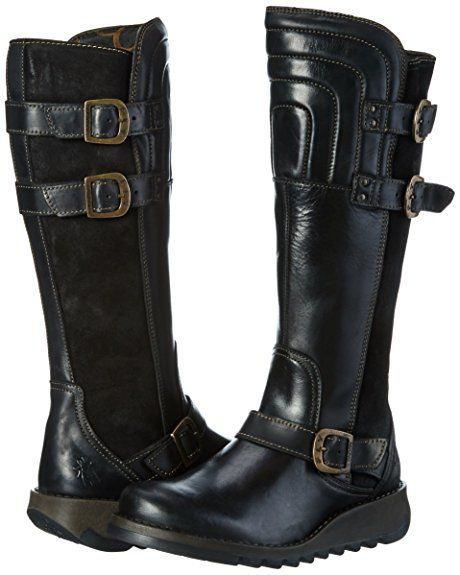 1a882edbfa014 Fly London Women s Sher730fly Biker Boots  Amazon.co.uk  Shoes   Bags