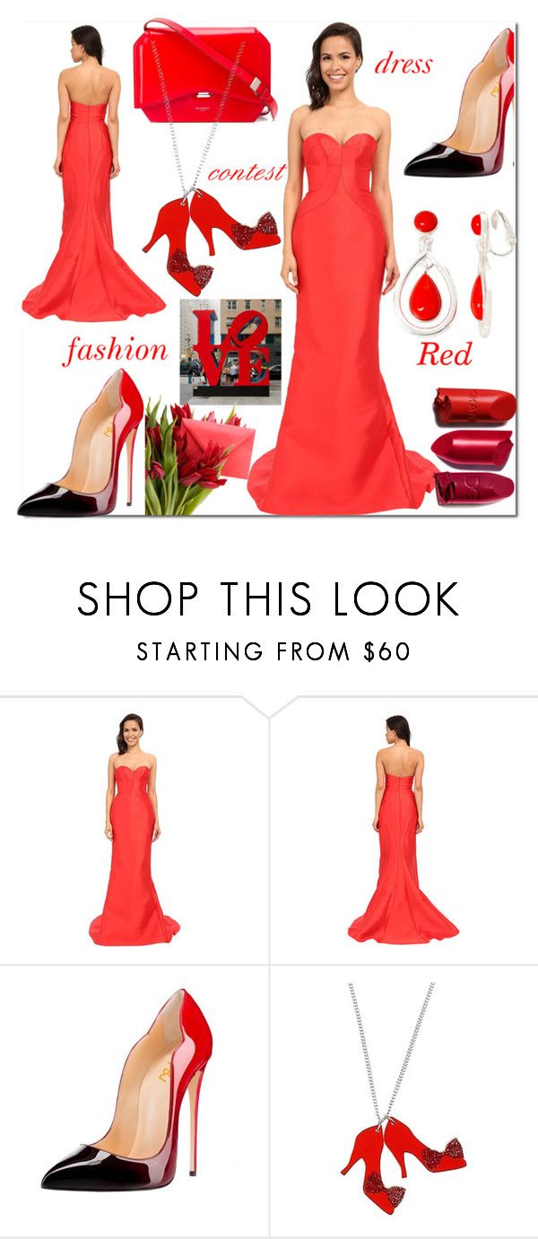 """""""contest"""" by mersudin-becirovic-1 ❤ liked on Polyvore featuring Faviana, Any Old Iron and Liz Claiborne"""
