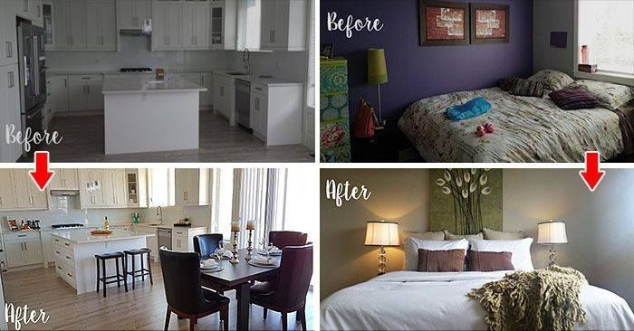 15 Before & After Photos That Prove the Power of Home Staging  #SellYourHome #FirstImpression https://buff.ly/2vGGL4a