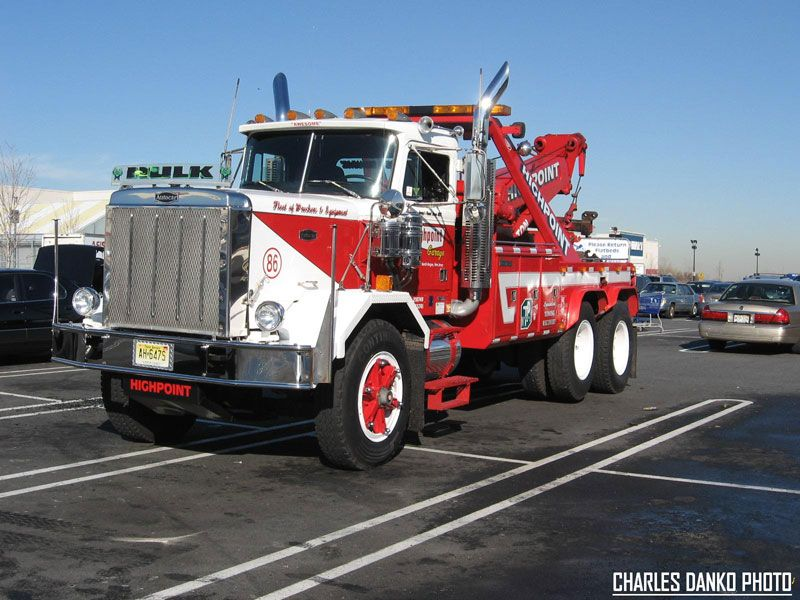 Autocar old semi truck wrecker. Towing,vintage. | trucks ...