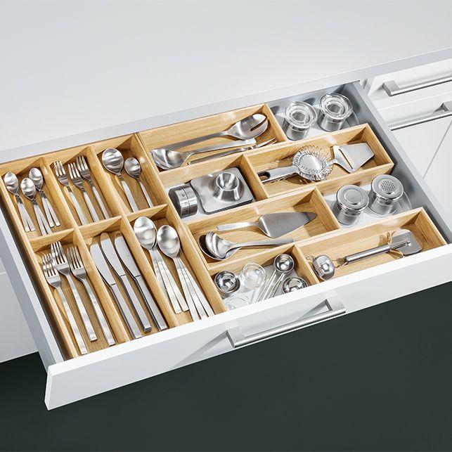 NEU! Flex-Box Besteckeinsatz, Eiche natur | Küche | Pinterest ...