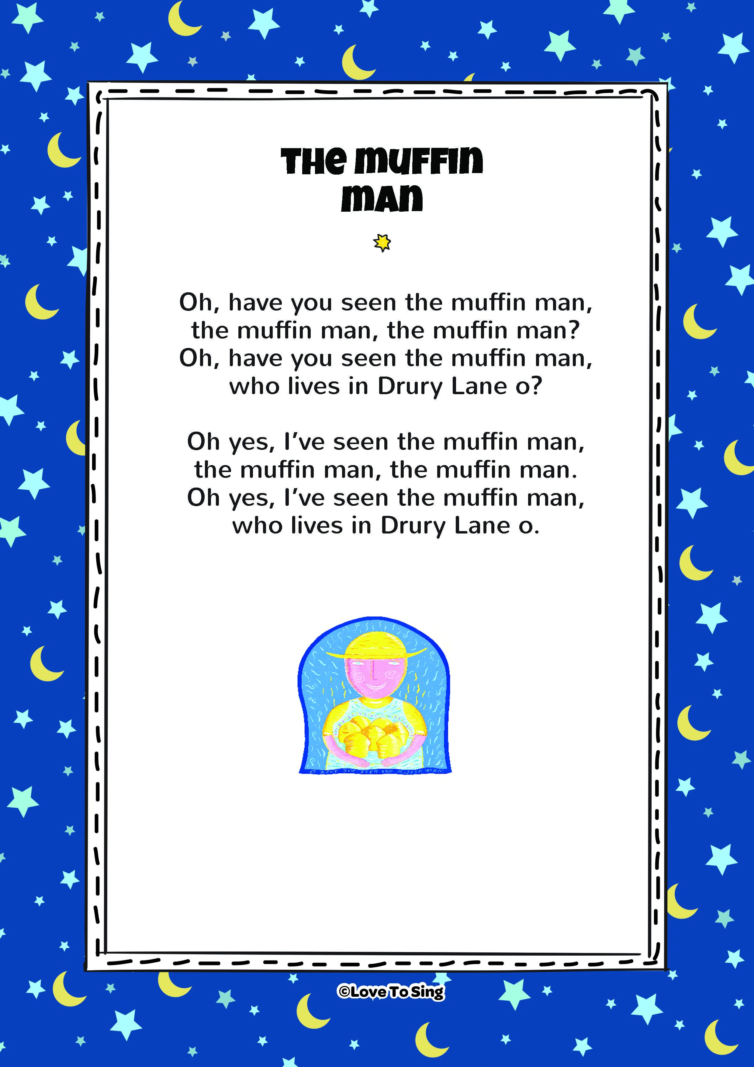 The Muffin Man Kids Song