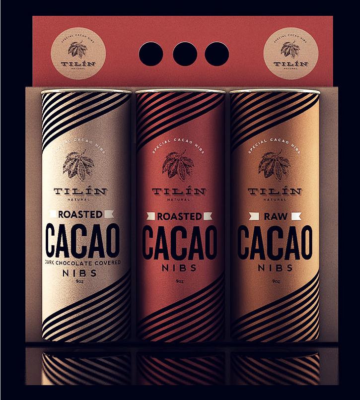Embalagens da Tilín Cacao