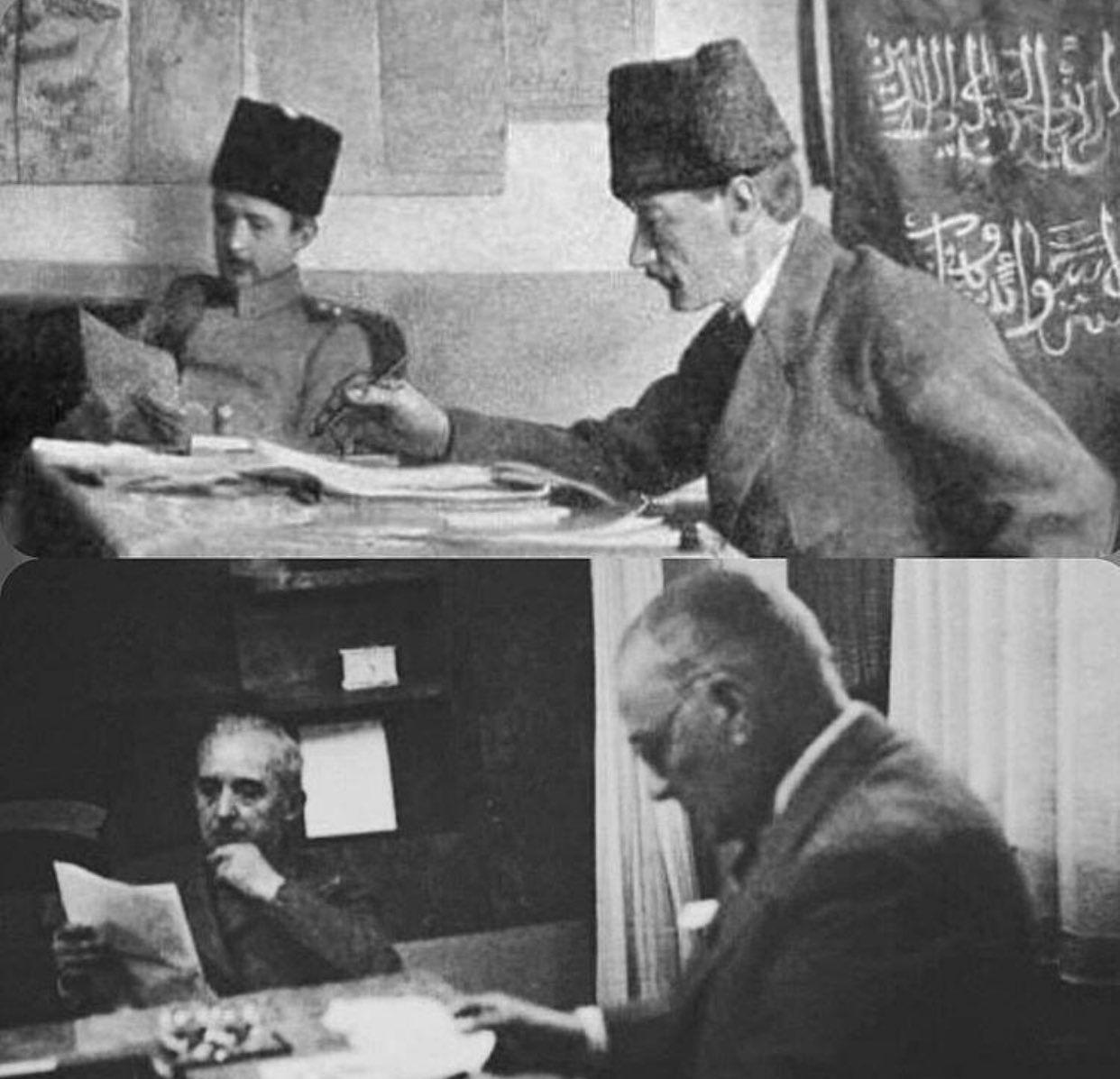 Mustafa Kemal Ataturk And Ismet Inonyu Historical Figures Historical Art