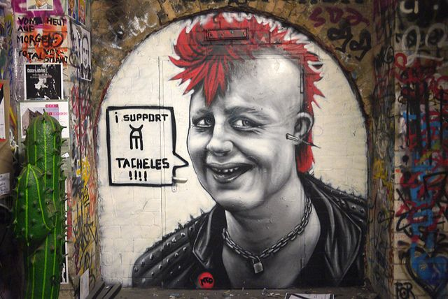 """""""When Angie was a punk rock girl ... """" by MTO (Graffiti Street art), via Flickr"""