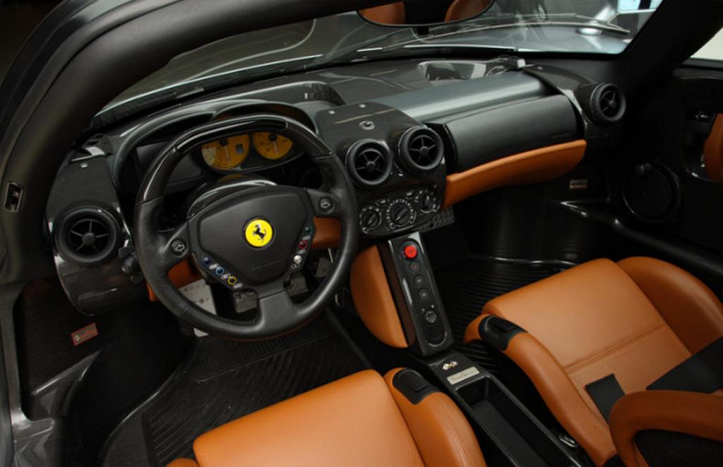 Ferrari Enzo Rare Grey With Brown Interior Imports Pinterest