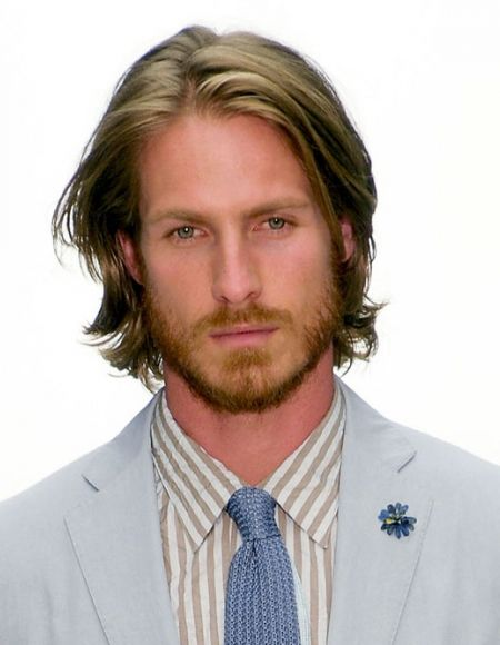 Mens Shoulder Length Straight Hair Hair In 2019 Medium Length