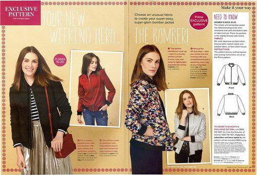 Prima Magazine - Pattern, Feb 2017 (02) - Seemane Blog - Sew ...