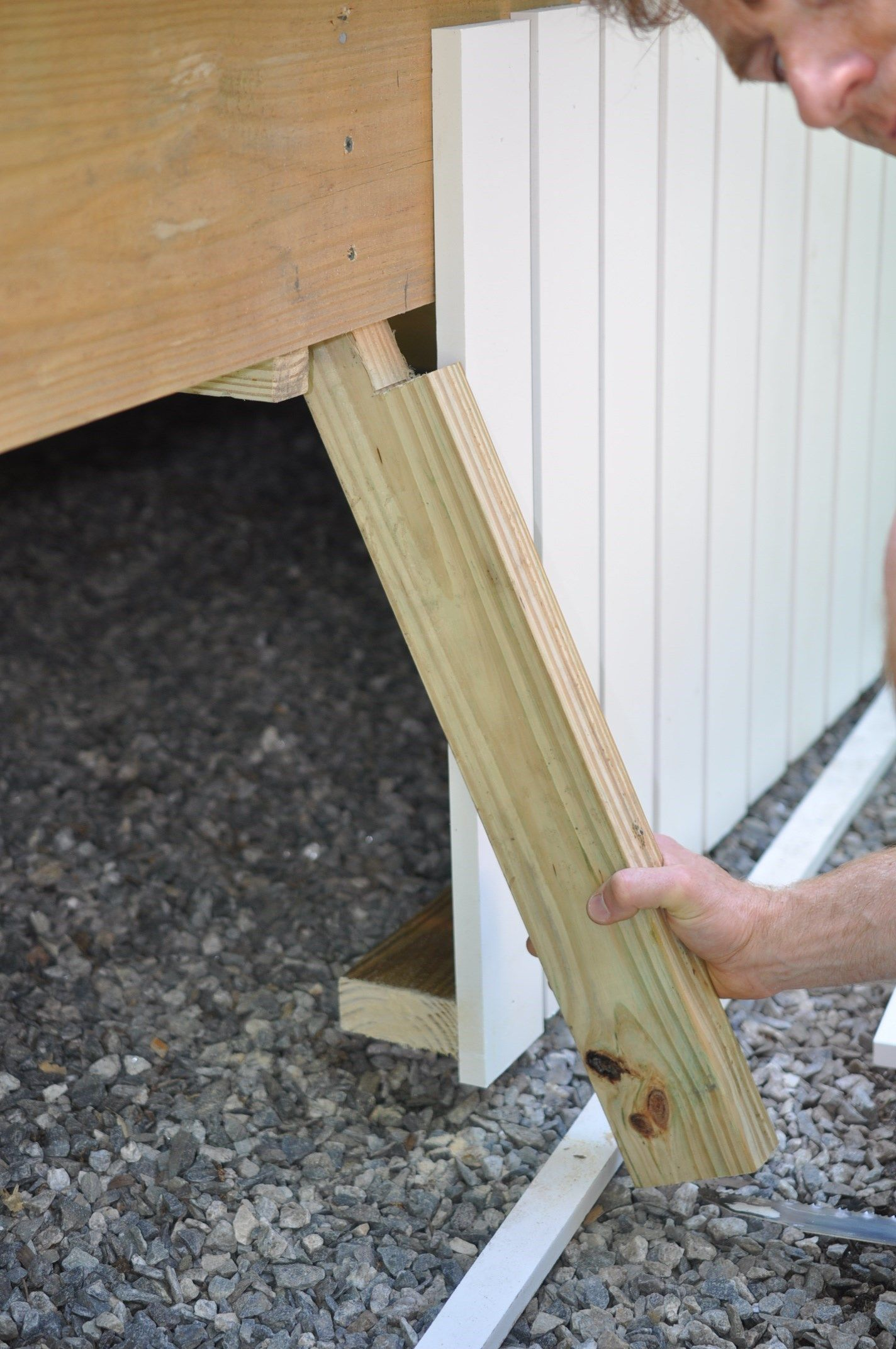 Deck Skirting Can Be An Attractive Feature That Can Be