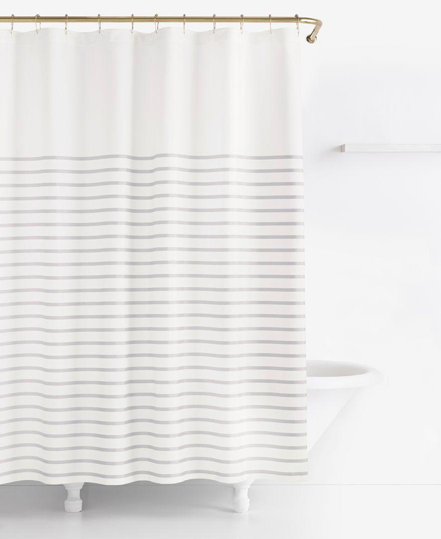 Kate Spade New York Harbour Stripe Shower Curtain Reviews