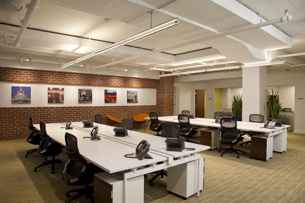 Spacious Co Working Area Coworking Coworking Big Desk Open Office