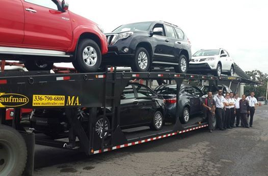Kaufman Max 6 Car Hauler Trailer Loaded Up In Costa Rica See All