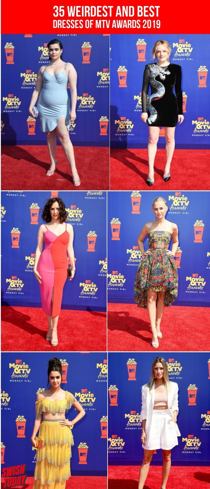 35 Weirdest And Best Dresses Of MTV Awards 2019 Mtv