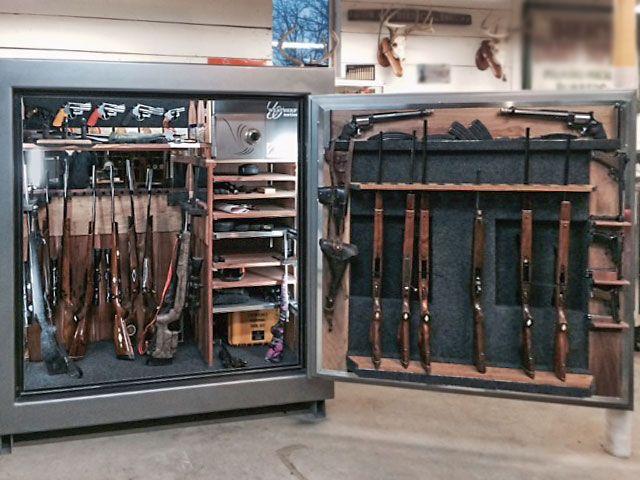 Custom Safe interior | Custom Stuff | Gun safe for sale, Safes for