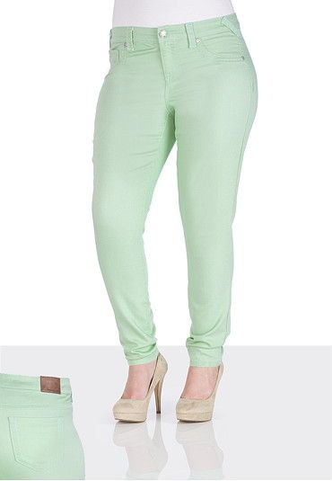 4340f43b0 Maurices Denim Flex ™ Colored Jegging - maurices.com | Mint is the ...