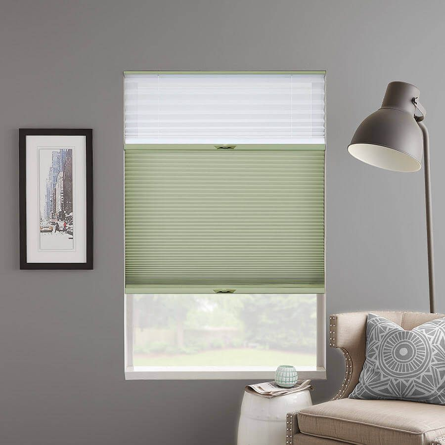 Premier Double Cell Light Filtering Trishades Custom Window Coverings Light Filter Select Blinds