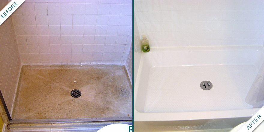 Weu0027ve All Seen Those Dirty Shower Floors. Bath Fitter Is Here To Fix That.