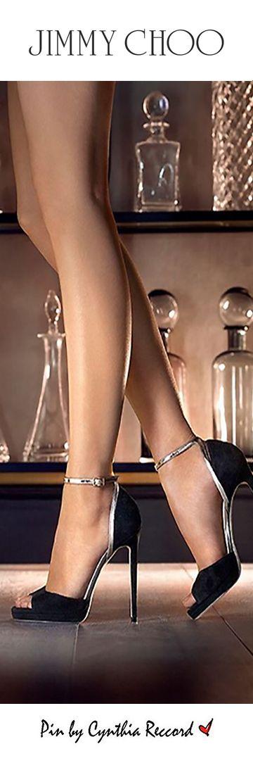 Jimmy Choo | Midnight Glamour | cynthia reccord. I'll take the legs!