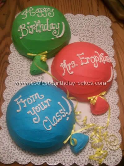 Coolest Balloon Birthday Cake Photos Balloon party Balloon