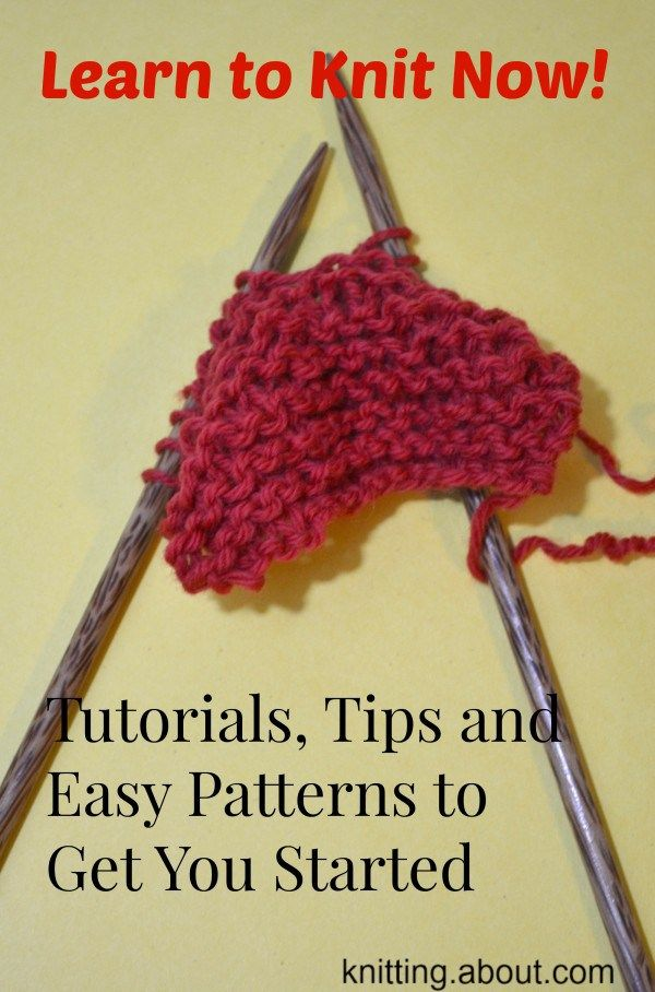 Tips And Projects For New Knitters Tutorials Learning And Crochet