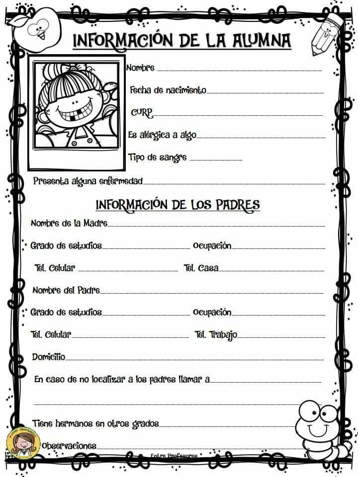 Pin De Asun Vidal En Fichas Educacion Preescolar Maestra Libro