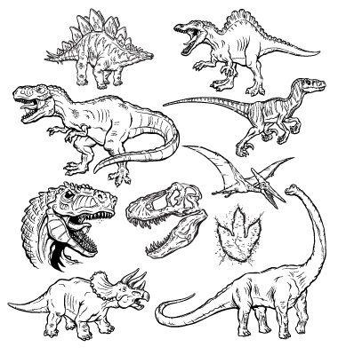 http://cdn.vectorstock/i/composite/33,82/dinosaurs-vector