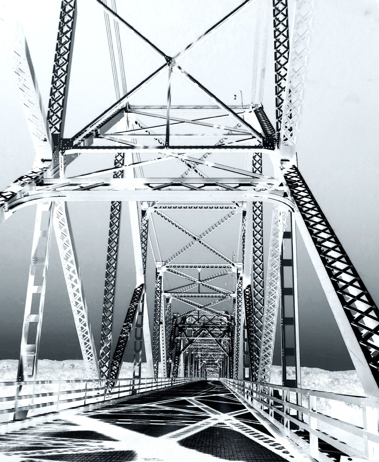 Bridge From Lansing, IA To WI. Used Virtual Photographer