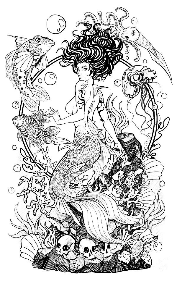 Pin von Elisabeth Quisenberry auf Sirens Of The Sea | Pinterest ...