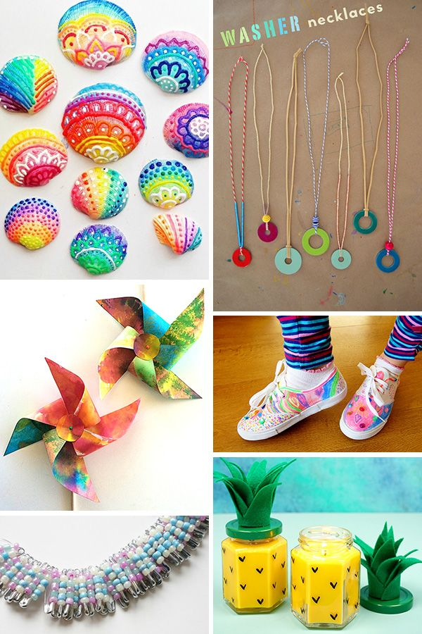 45 Fabulously Fun Summer Crafts For Tweens Ideas For 8-12 -2105
