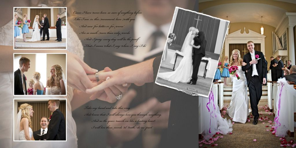 my wedding album and some photoshop tricks stuff to
