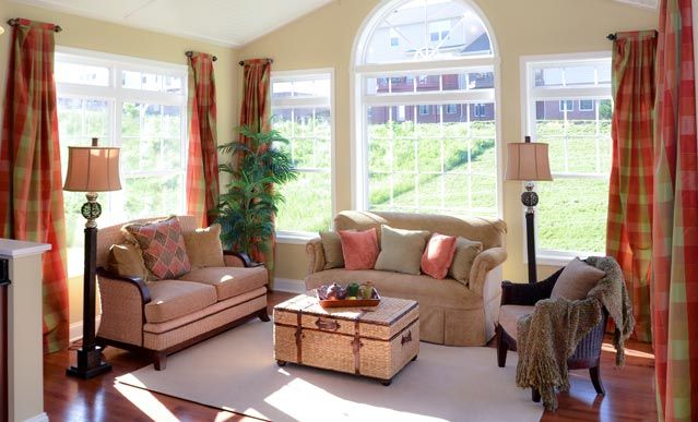 View floorplans of new homes in Trotter Farm Community in Port Matilda, PA Sunroom