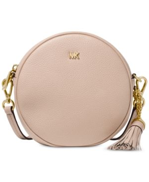 6048823c05a1 Pebble Leather Circle Canteen Crossbody in 2019 | Products | Micheal ...