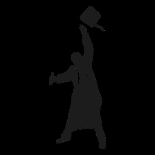 Graduate Throwing Hat Silhouette Ad Affiliate Affiliate Throwing Hat Silhouette Gradua Graduation Silhouette Graduation Cards Handmade Silhouette