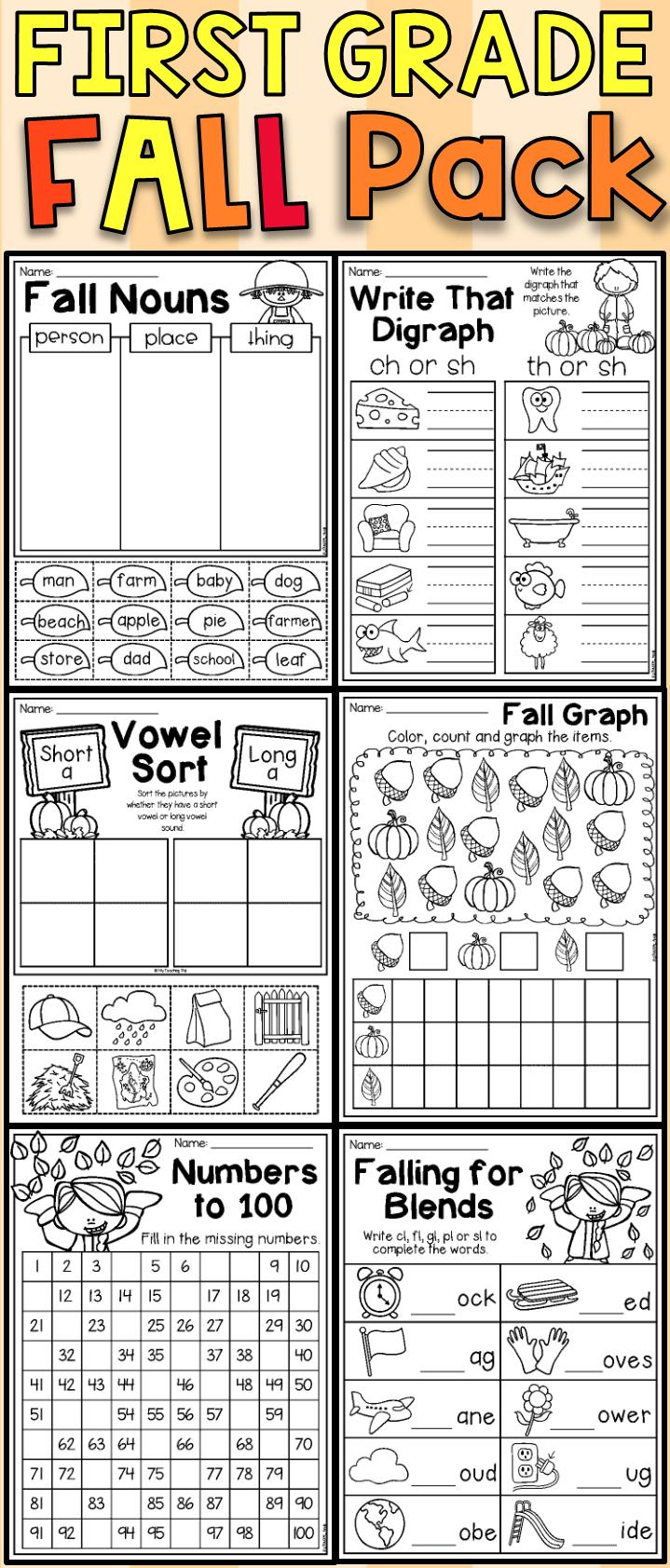 https://dubaikhalifas.com/fall-math-and-literacy-worksheet-pack-first-grade-literacy-worksheets-first-grade-nouns/ [ 400 x 1683 Pixel ]