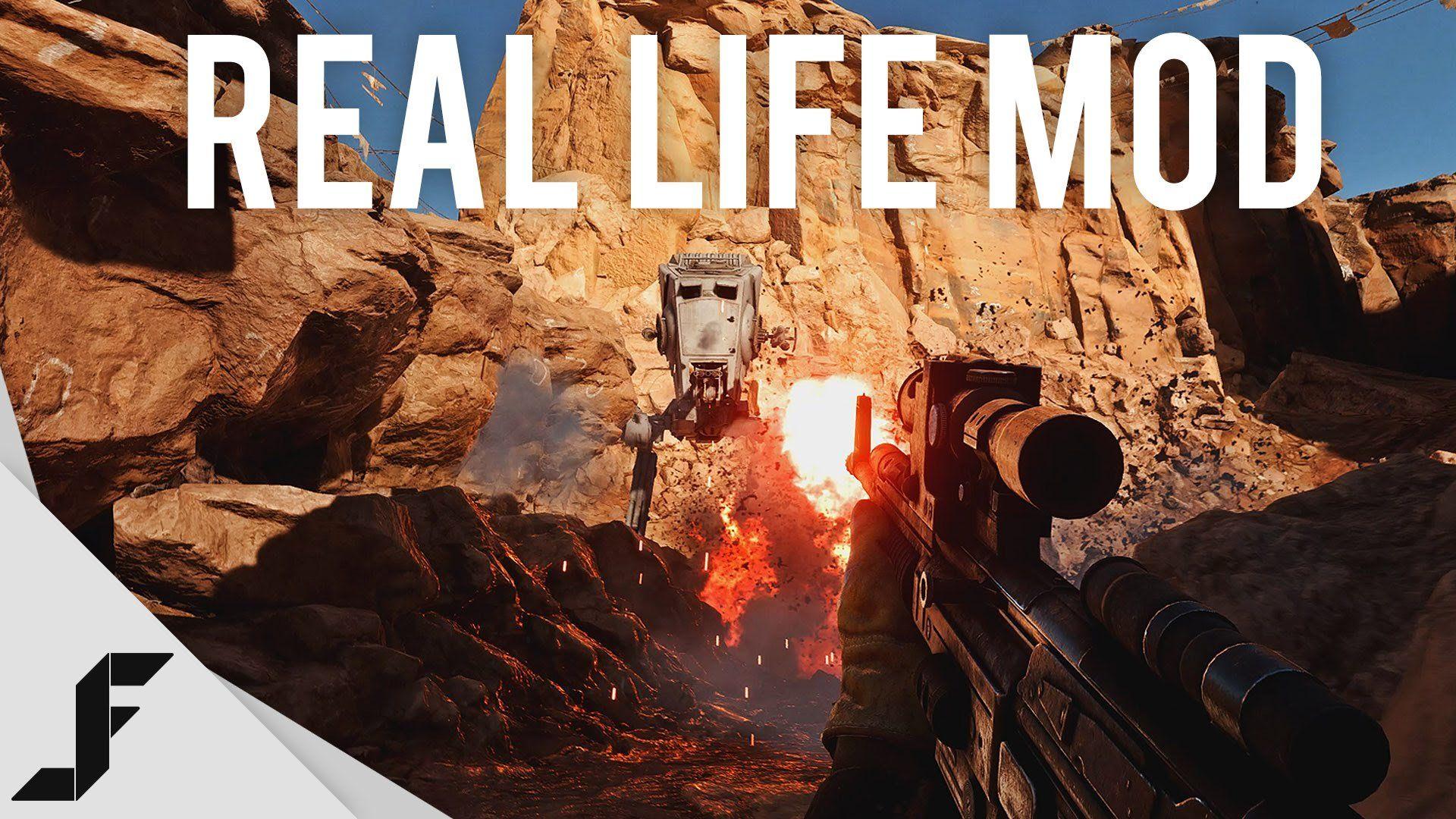 Star Wars Battlefront 'real life' mod at 4K 60FPS - TECKKNOW