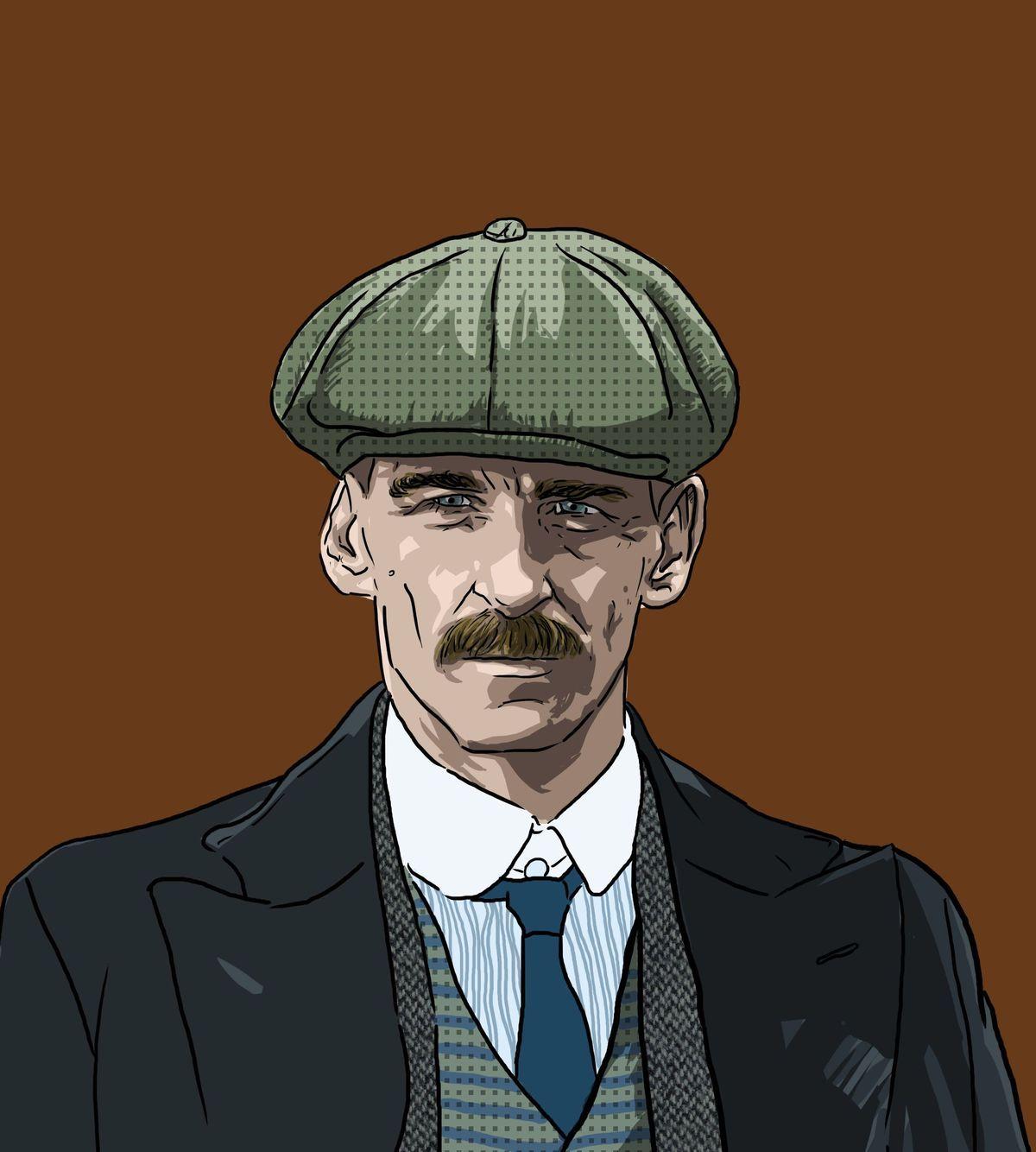 Peaky Blinders Series Characters Art Silk Poster 12x18 24x36