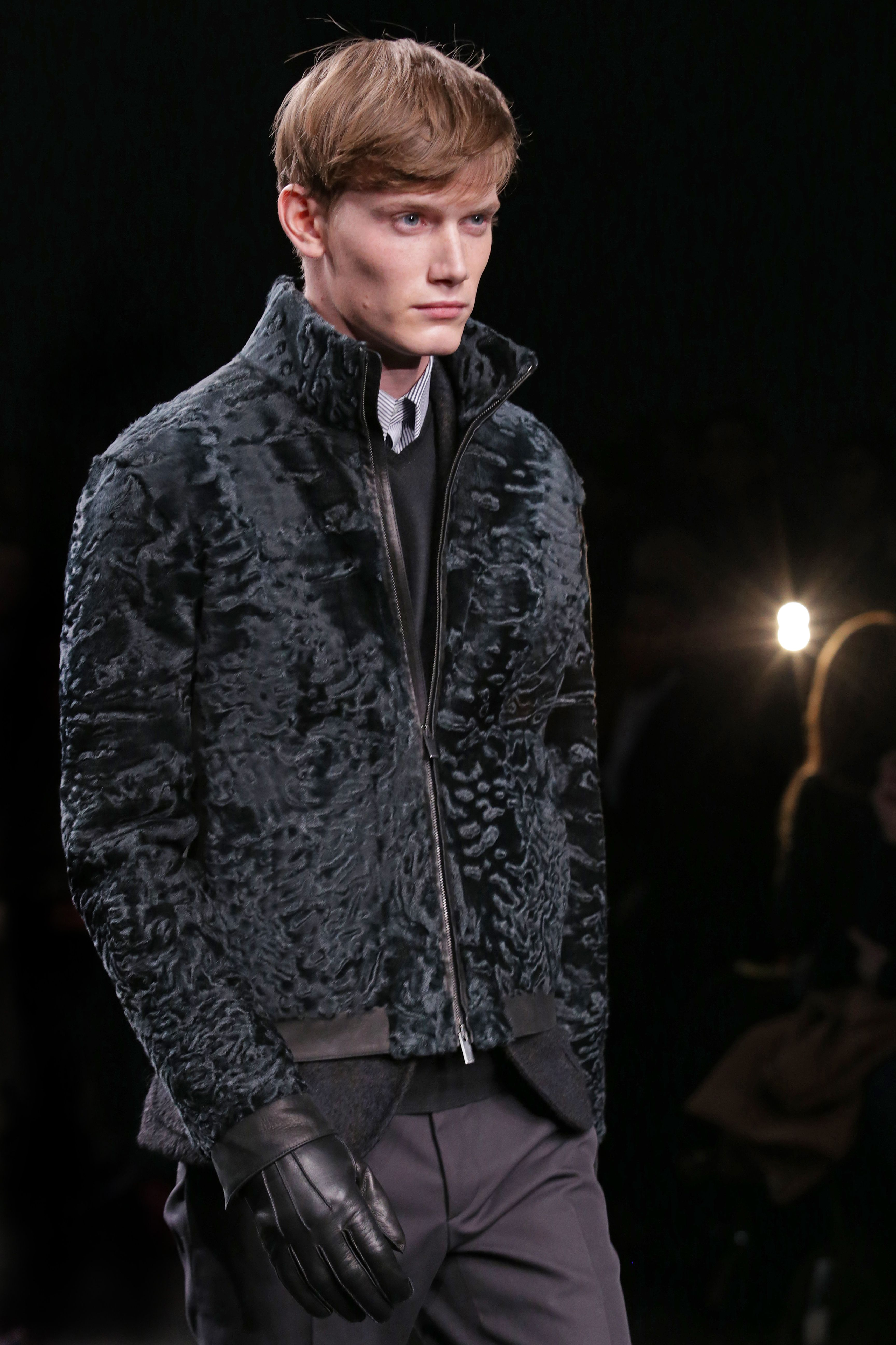 Fendi Men's Fall/Winter 2014-15 Collection Close Up 34